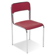 Nowy Styl Cortina K-30 Krzesło czerwone