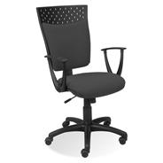 Nowy Styl Prosper 10 C26 Krzesło czarno-szare