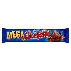 Grześki Mega Wafel przekładany kremem kakaowym w czekoladzie 48 g 32 sztuki