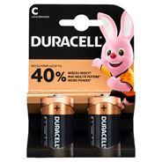 Baterie alkaliczne Duracell C/LR14 2 szt