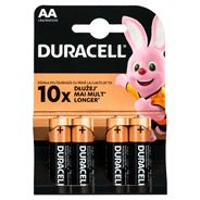 Duracell AA LR6/MN1500 1,5 V Baterie alkaliczne 4 sztuki