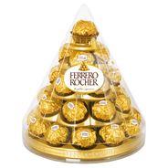 Ferrero Rocher Chrupiący wafelek z kremowym nadzieniem i orzechem laskowym w czekoladzie 350 g