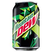 Mountain Dew Napój gazowany 330 ml 24 sztuki