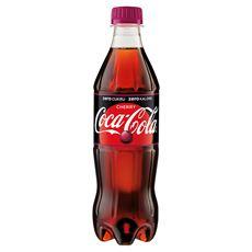 Coca-Cola zero Cherry Napój gazowany 500 ml 12 sztuk
