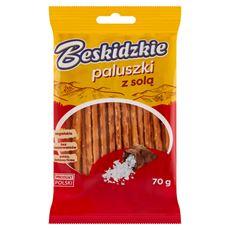 Aksam Beskidzkie Paluszki z solą 70 g 20 sztuk