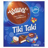 Wawel Tiki Taki kokosowo-orzechowe Czekoladki nadziewane 430 g