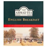 Ahmad Tea English Breakfast Herbata czarna 200 g (100 torebek z zawieszką)