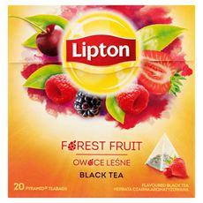 Lipton Owoce Leśne Herbata czarna 34 g (20 torebek)