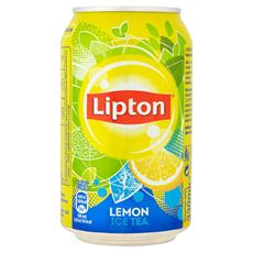 Lipton Ice Tea Lemon Napój niegazowany 330 ml 24 sztuki