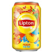 Lipton Ice Tea Peach Napój niegazowany 330 ml 24 sztuki