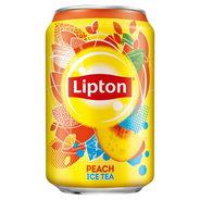 Lipton Ice Tea Peach Napój niegazowany 330 ml 24 sztuk