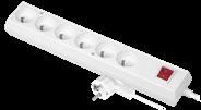 Przedłużacz JONEX stały z sześciokrotnym gniazdem wtyczkowym 3 m