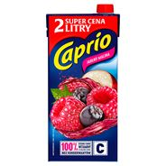 Caprio Jabłko malina Napój 2 l 6 sztuk