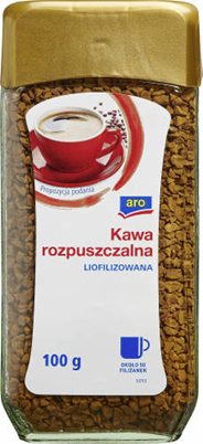 Aro Kawa rozpuszczalna liofilizowana 100 g