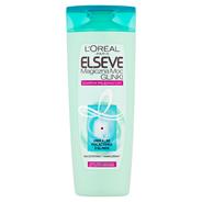 L'Oréal Paris Elseve Magiczna moc glinki Szampon do włosów 400 ml.