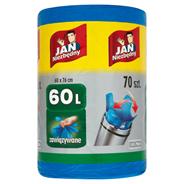 Jan Niezbędny Easy-Pack Worki na śmieci 60 l 70 sztuk