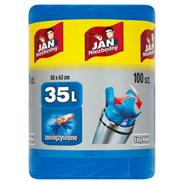 Jan Niezbędny Easy-Pack Worki na śmieci 35 l 100 sztuk