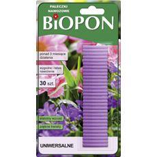 Biopon Pałeczki nawozowe uniwersalne 30 sztuk