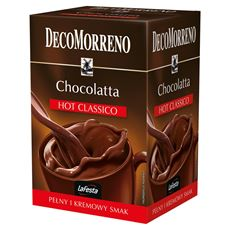 DecoMorreno La Festa Chocolatta Hot Classico Napój instant 250 g (10 saszetek)