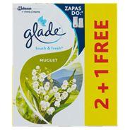 Glade by Brise One Touch Mini Spray Konwalia Zapas do odświeżacza powietrza 3 x 10 ml