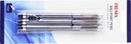 Sigma Pióro kulkowe niebieskie 1,0 mm 3 sztuki