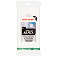 Autoland Car Care Chusteczki do szyb i piór wycieraczek 25 sztuk