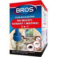 Bros Płyn do elektro na muchy komary i mrówki 40 ml