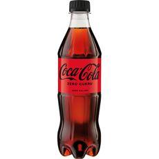 Coca-Cola zero Napój gazowany 500 ml 12 sztuk