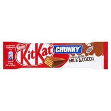 KitKat Chunky Paluszek waflowy w mlecznej czekoladzie 40 g 36 sztuk
