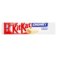 KitKat Chunky White Paluszek waflowy w białej czekoladzie 40 g 36 sztuk