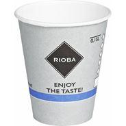 Rioba Kubki papierowe do gorących napojów 150 ml 50 sztuk