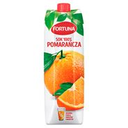 Fortuna Sok 100% pomarańcza 1 l 6 sztuk karton