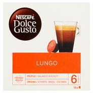 Nescafé Dolce Gusto Lungo Kawa w kapsułkach 112 g (16 sztuk)
