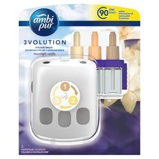Ambi Pur 3Volution Moonlight Vanilla Odświeżacz elektryczny, zestaw startowy, 20ml