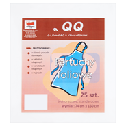 Quickpack Fartuchy foliowe 74 cm x 150 cm 25 sztuk