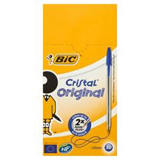 Bic Cristal Original Długopis niebieski 50 sztuk