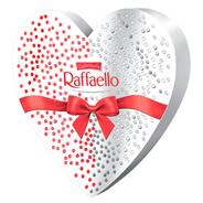 Bombonierka Rafaello 140g w kształcie serca