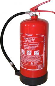 Sena Gaśnica proszkowa typ GP-6X ABC 6 kg