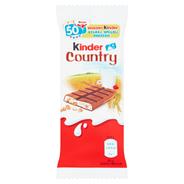 Kinder Country Czekolada mleczna z nadzieniem mlecznym i zbożami 23,5 g 40 sztuk
