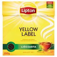 Lipton Yellow Label Herbata czarna liściasta 100 g