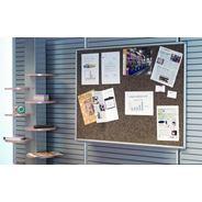 Post-it Tablica samoprzylepna informacyjna w aluminiowej ramce brązowa 90x120 cm