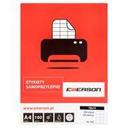 Emerson Etykiety samoprzylepne 105 x 74mm 100 arkuszy