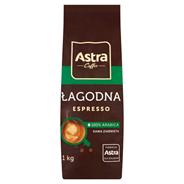 Astra Łagodna Intensywny smak Espresso Kawa ziarnista 1 kg