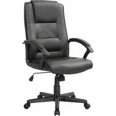 Sigma EC18 Fotel skórzany czarny