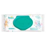 Pampers Sensitive Chusteczki dla niemowląt, 1x56 sztuk