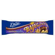 E. Wedel Bajeczny Baton orzechowy arachidowy z dodatkiem wafelków w mlecznej czekoladzie 45 g 24 sztuki
