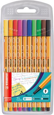 Stabilo Cienkopis 10 kolorów