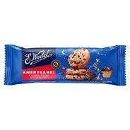 E. Wedel Amerykanki kakaowe Kruche ciastka z kawałkami czekolady 125 g