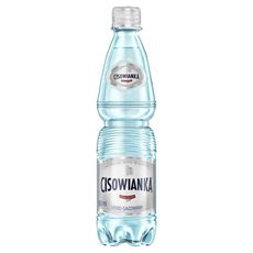 Cisowianka Naturalna woda mineralna lekko gazowana 12 x 0,5 l