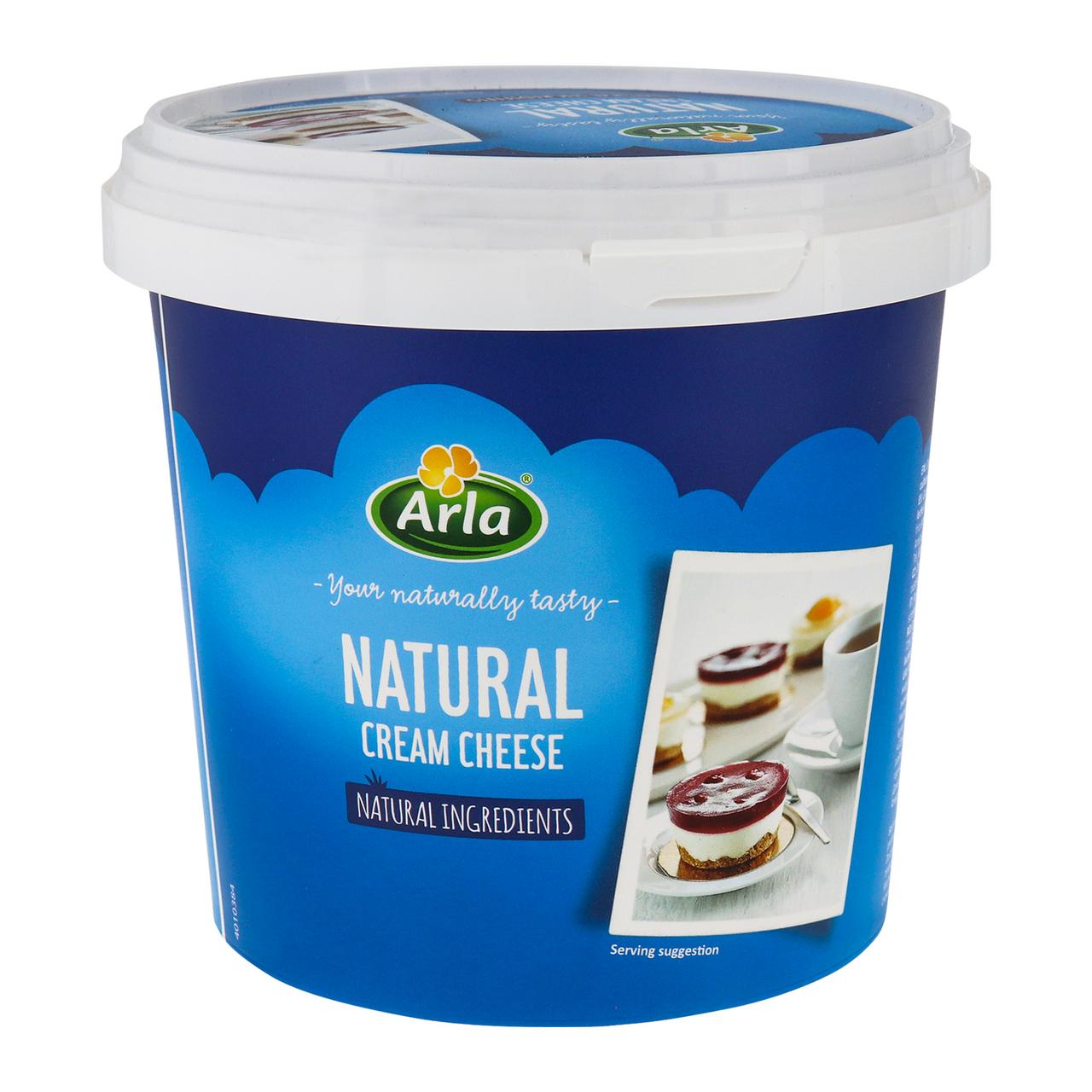 Крем-сир Arla Natural 70% 1.5кг
